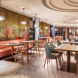 Kotara ażurowa z wzorem do restauracji