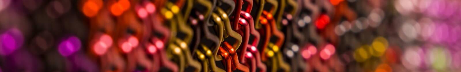 Kolory łańcuszków dekoracyjnych