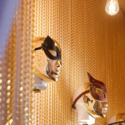 Łańcuszki dekoracyjne - jako ozdoba ściany - Poppa